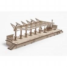 Railway Platform Mechanical Model