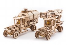 UGM-11 Truck Additions 3D Wooden Kit