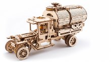 Truck with Tanker 3D Wooden Kit