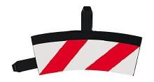 Evo/Digital Inside Shoulder for High Banked Curve 1/30° - 20569