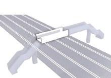Evo/Digital 132/124 Bridge Extension for Pedestrian Bridge - 21120