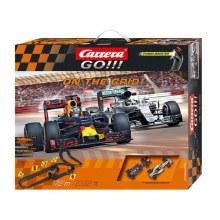 Go!!! On The Grid Slot Car Set - 72662506