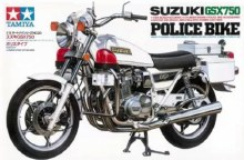 1:12 Scale Suzuki GSX750 Police Bike - 14020