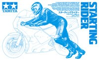 1:12 Scale Starting Rider Figure - T14124