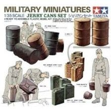 1:35 Scale Jerry Cans Set - T35026