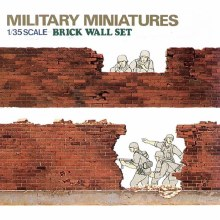 1:35 Scale Brick Wall Set - T35028