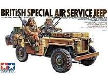 1:35 Scale British S.A.S. Jeep - 35033