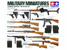 1:35 Scale German Infantry Weapons Set - 35111
