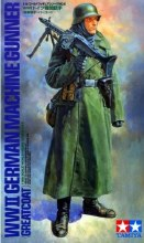 1:16 Scale WWII German Machinegunner (Greatcoat) - 36306