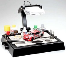 Workstand w/Magnifying Lens - T74064