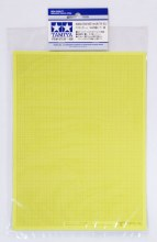 Masking Sticker Sheet 5pcs 1mm Grid Type - T87129