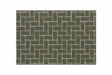 Diorama Material Sheet Gray-Colored Brickwork