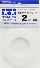Masking Tape for Curves 2mm - T87177