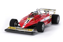 1:10 Ferrari 312T3 (F104W Chassis) Assembly Kit - 47374