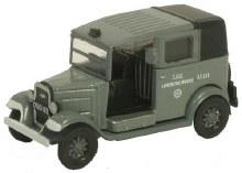 1:76 Scale AFS LCC Austin Taxi London Fire Brigade - 76AT003