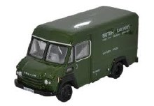 1:76 Scale Commer Walk Thru British Railways Green - 76CWT001