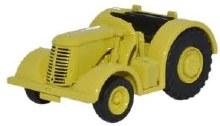 1:76 Scale David Brown Tractor Yellow - 76DBT004