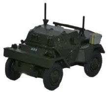 1:76 Scale Daimler Dingo RUC No9 Platoon Keady Co Armagh - 76DCS005