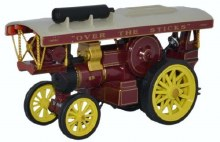 1:76 Scale Fowler B6 Showmans Loco 'King Carnival'  - 76FB6003