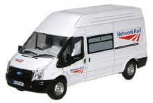 1:76 Scale Ford Transit Network Rail - 76FT005