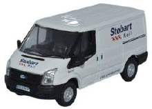 1:76 Scale Ford Transit SWB Low Roof Stobart Rail - 76FT012