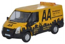 1:76 Scale Ford Transit SWB Low Roof AA - 76FT016