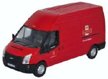 1:76 Scale Ford Transit LWB High Roof Royal Mail - 76FT024