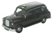 1:76 Scale FX4 Taxi Black - 76FX4001