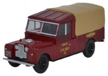 1:76 Scale Land Rover Series I 109 Canvas British Railways - 76LAN1109009