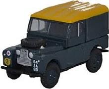 1:76 Scale Land Rover Series I '88 Hard Back RAF - 76LAN188021