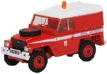 1:76 Scale Land Rover 1/2 Ton Lightweight RAF Red Arrows - 76LRL003