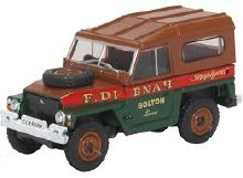 1:76 Scale Land Rover Lightweight Hard Top Fred Dibnah - 76LRL006