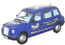 1:76 Scale Real Radio TX4 Taxi - 76TX4003