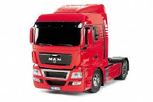 1:14 MAN TGX 18.540 4x2 XLX Red Edition On-Road Assembly Kit - T56332