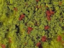 Foam Flock Light Green with Red 200ml - 3390