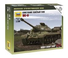 1:100 Scale Soviet Heavy Tank IS-3 Snap Fit - ZV6194