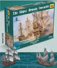 1:350 Scale Armada Invincible Historical Wargame - 6505