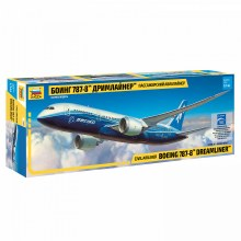 1:144 Scale Civil Airliner Boeing 787-8 Dreamliner - ZV7008