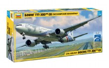 1:144 Scale Civil Airliner Boeing 777-300 ER - ZV7012