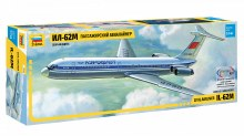 1:144 Scale Il-62M Russian Airliner - 7013