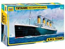 1:700 Scale R.M.S. Titanic - ZV9059
