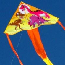 Dinosaur Delta Kite