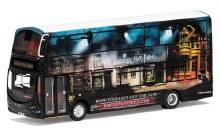 1:76 Scale Wright Eclipse Gemini 2 Harry Potter Warner Bros. Studio Shuttle Bus - OM46513