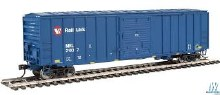 HO Gauge 50' ACF Exterior-Post Boxcar Montana Rail Link #21037 - 910-2186