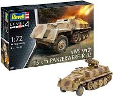 1:72 Scale SWS with 15cm Panzerwerfer 42 - 03264