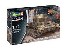 "1:72 Scale Flakpanzer IV ""Wirbelwind"" - 03267"