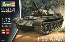 1:72 Scale T-55A - 03304