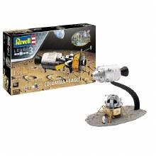 1:96 Scale Apollo 11 Columbia & Eagle - 03700
