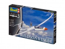 1:32 Scale Glider Duo Discus & Engine - 03961