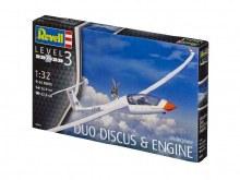 1:32 Scale Glider Duo Discus & Engine - 03961